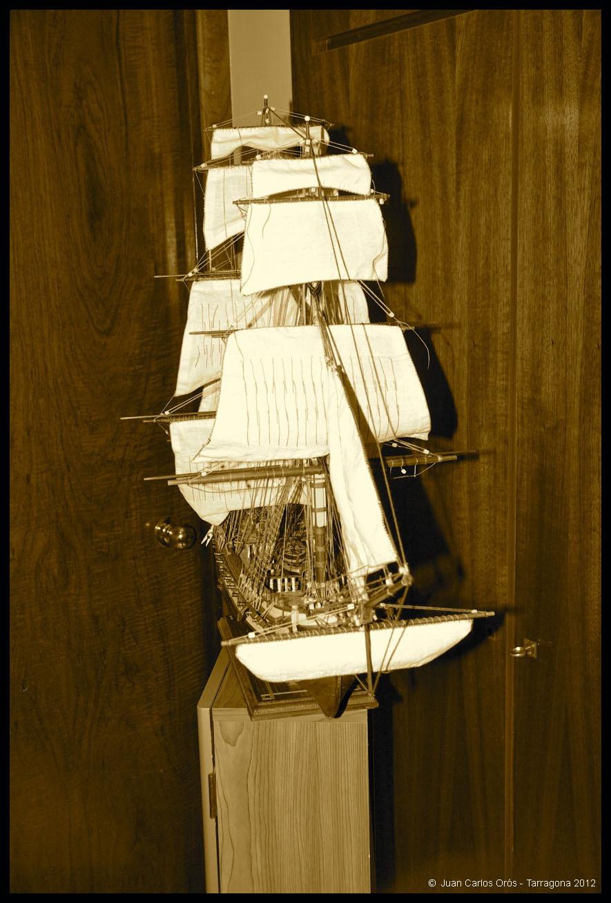 Construcción de la Fragata Diana XXXI