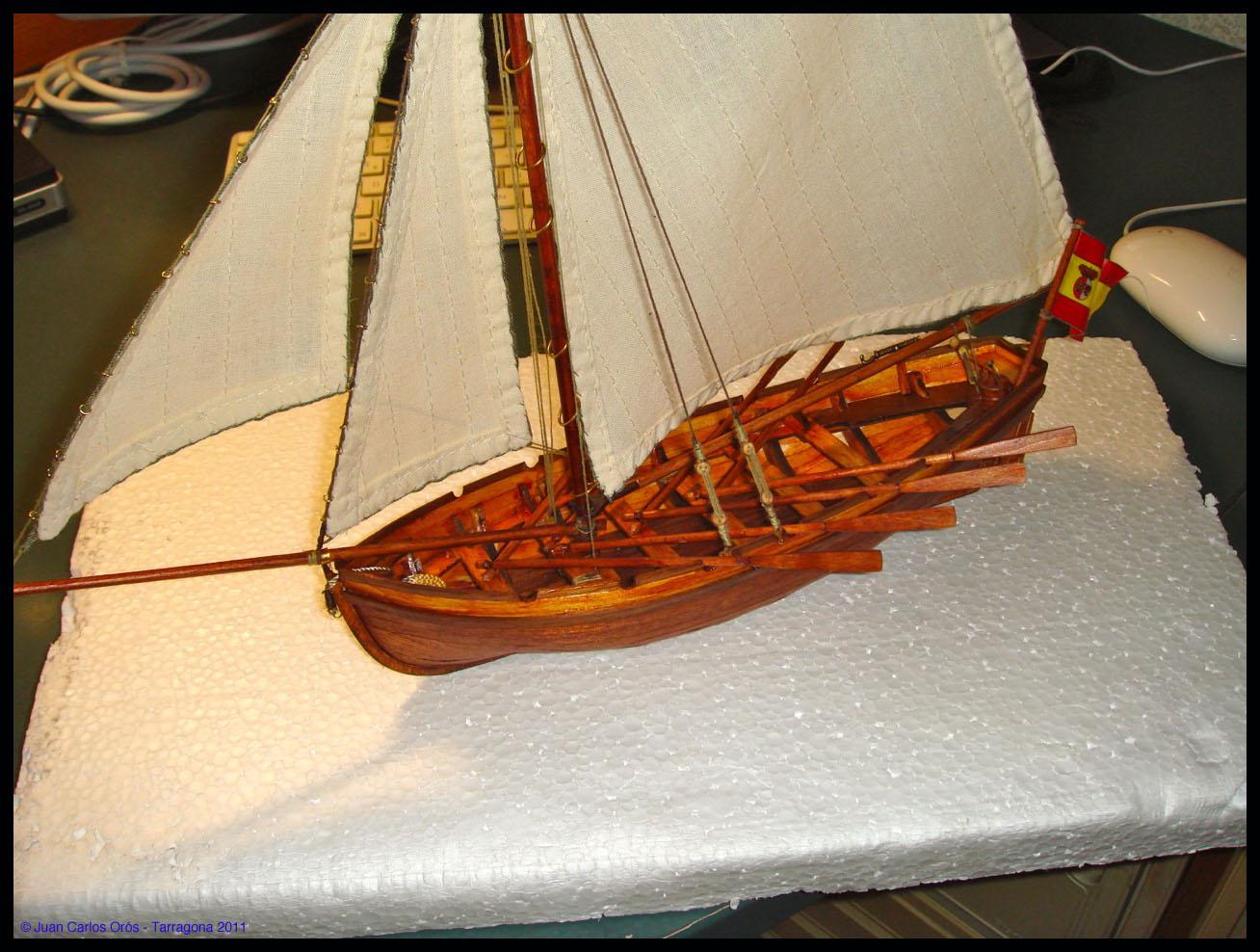 Diorama Bote Auxiliar San Juan Nepomuceno III