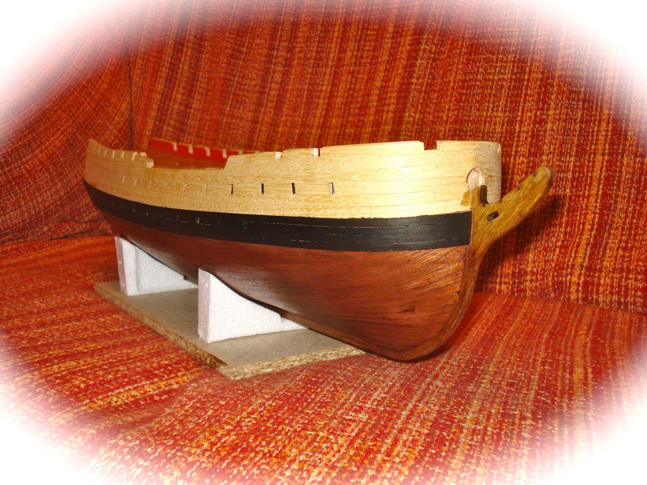 Construcción de la Fragata Diana X