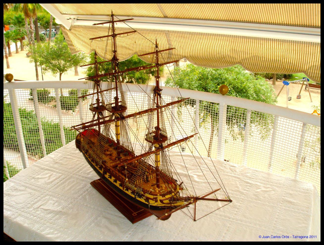 Construcción de la Fragata Diana XXVII