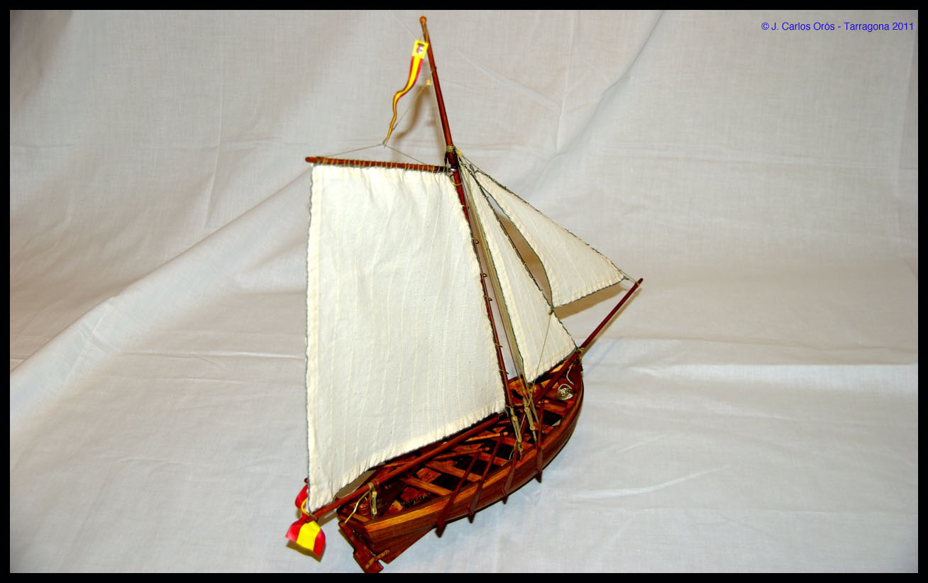 Diorama Bote Auxiliar San Juan Nepomuceno II