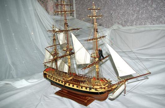 Construcción de la Fragata Diana XXIX