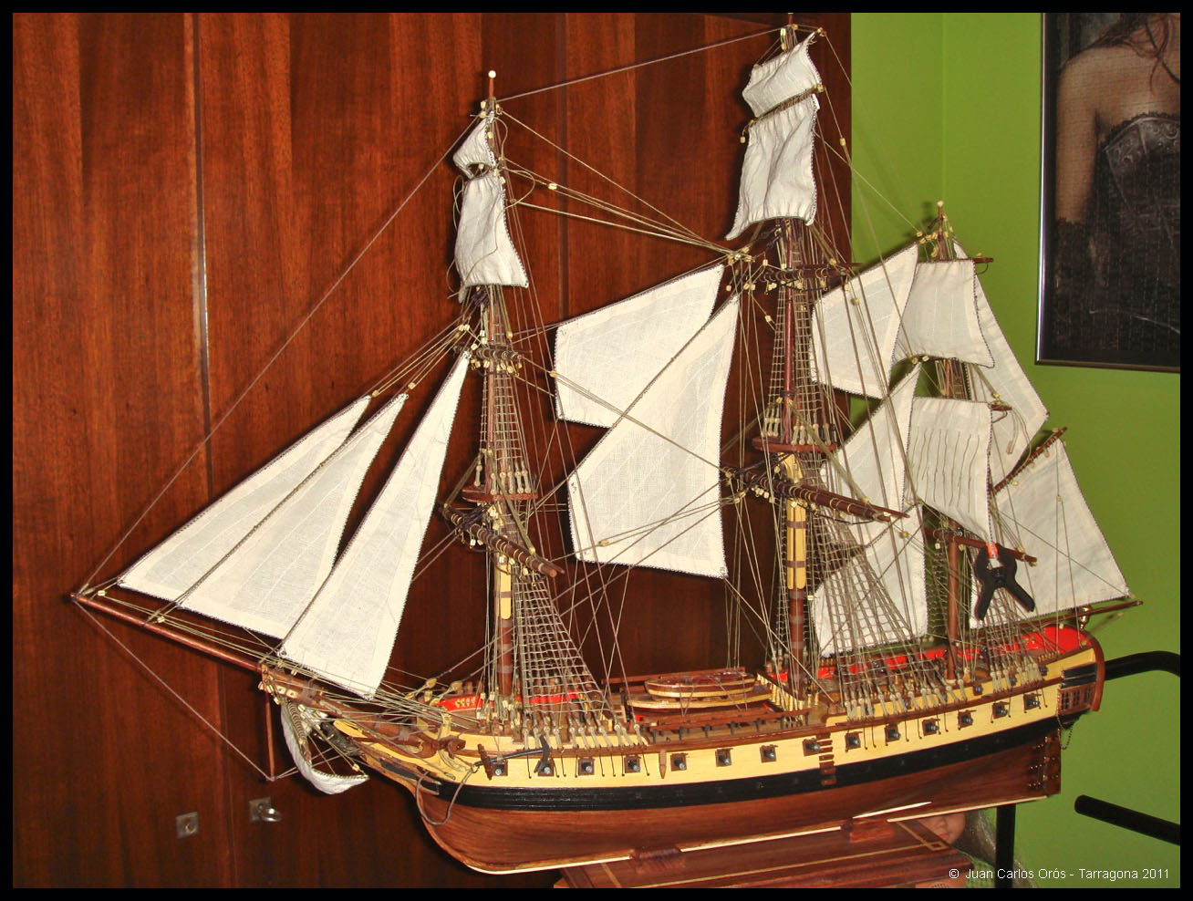 Construcción de la Fragata Diana XXX