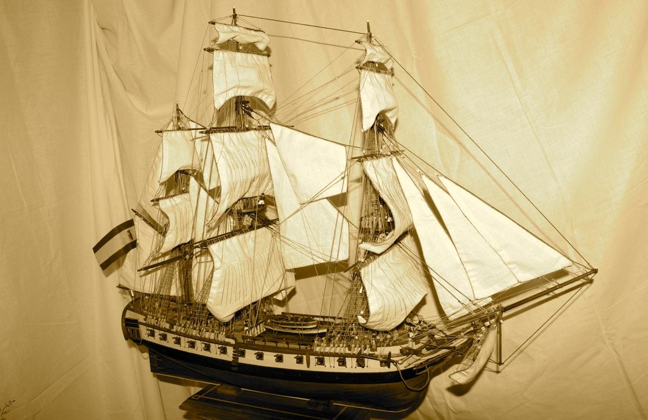 Construcción de la Fragata Diana XXXV
