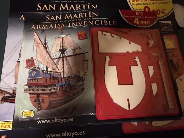 Review Fascículos Altaya Galeón San Martín